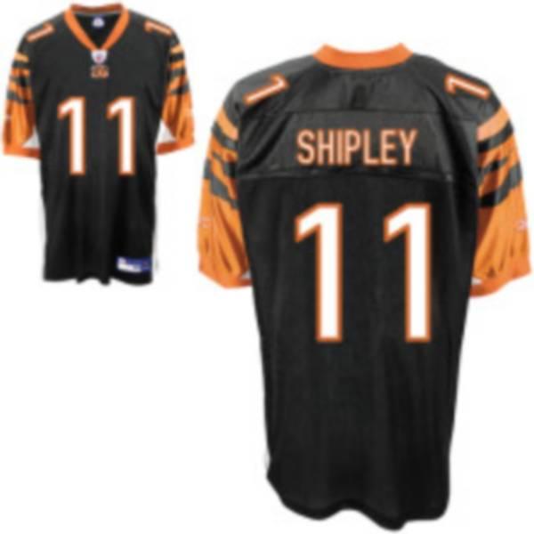 Bengals #11 Jordan Shipley Black Stitched NFL Jersey | Cheap Nike ...